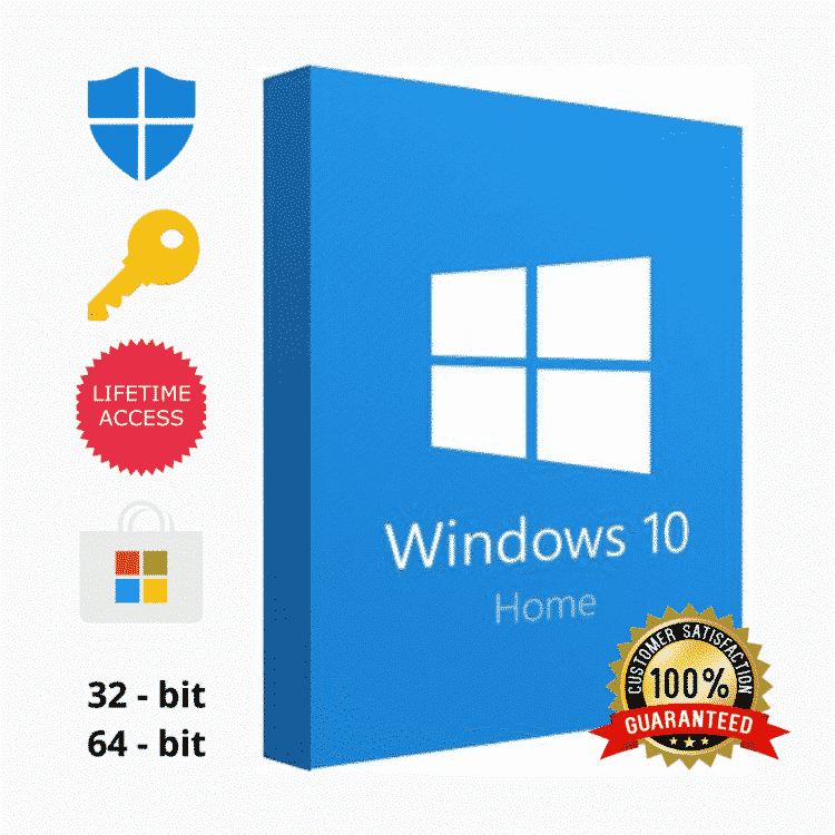 Windows 10 Home Activation Key 32-64 Bit